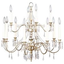 french mid century silver plated chandelier with crystals p a majestic very