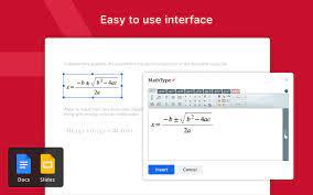mathtype google workspace marketplace