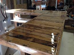 Wood Pallet Table Top Epoxy Resin Top Projects To Try Pinterest Epoxy Resin And