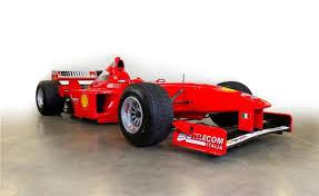 Michael schumacher clinched ferrari's first drivers' title in over 20 years in japan. Michael Schumacher S Ferrari F1 Car Nets 1 7m At Barrett Jackson Autoguide Com News