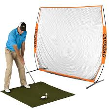 7x7 ft Golf Net and Mat Premium Bundle for Outdoor/Indoor/Backyard– THE  GOLFER'S PICK