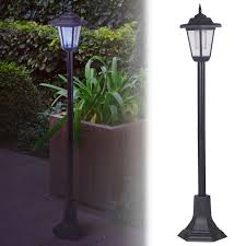 solar patio lights. Exellent Lights Solar Powered Garden Lights Lantern Lamp Black Led Pathway Driveway Outdoor  P Of Solar Patio For E