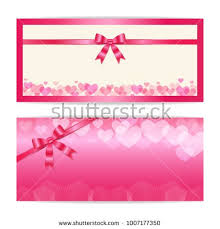 gift certificates format love and sweet theme gift certificate voucher gift card or cash
