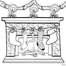 Small Picture Free Christmas Stockings and Decoration Coloring Page Join my
