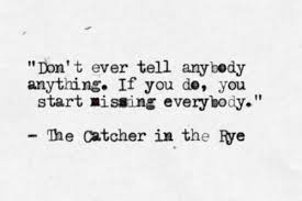 Catcher In The Rye Quotes Impressive The Catcher In The Rye On We Heart It