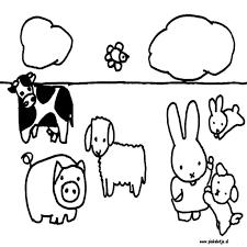 Lente Kleurplaten Peuters Google Images Cute Bunny Litle Pups In