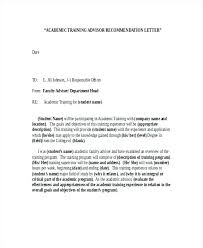 Letter Of Recommendation Template For Student Letter Of Recommendation For College