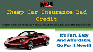 get bad credit auto insurance policy with t premium rates