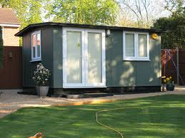 smart garden office. Smart Garden Office Finished For Longevity In Solid Colour Stain .