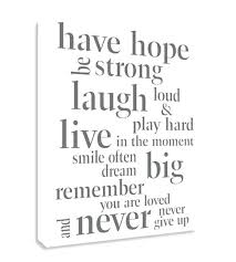 inspirational wall decor white inspirational canvas wall art have ope be strong laugh loud and play hard live inspirational quotes about life wall decor on inspirational quote canvas wall art with inspirational wall decor white inspirational canvas wall art have