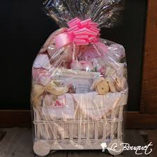baby chair gift basket le bouquet montreal