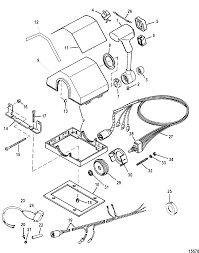Mercury outboard controller parts wiring diagram base