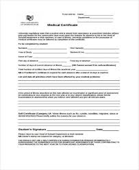 Types Of Medical Certifications 28 Medical Certificate Templates In Pdf Free Premium Templates