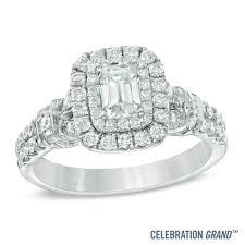 halo engagement wedding zales