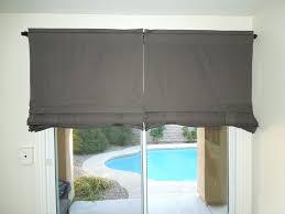 valances for sliding glass doors valance treatments wood