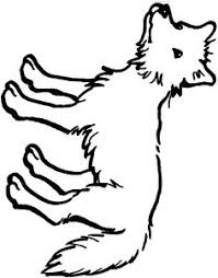 Small Picture Coyote coloring pages show this interesting animal in all its