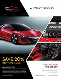 Sales Flyers Templates Automotive Car Sales Flyer Design Template In Psd Publisher Word