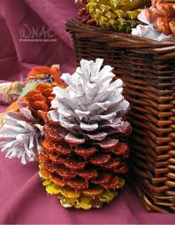 6 adorable pinecone crafts. Hello, fall