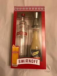 smirnoff no 21 vodka gift set 5cl bottle gl smirnoff jigger and orange