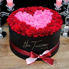 luxury flower bouquet box red pink rose center wedding arrangements same day flowers lily fall sympathy