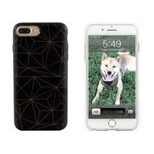 iphone 8 plus case. end scene iphone 8 plus/7 plus/6s plus/6 plus case - black copper geo iphone a
