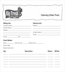 Free Online Order Form Template Food Order Form Template Magdalene Project Org