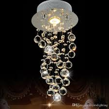 small chandelier light res corrido gu10 bulb lighting fixtures lamp passageway luminaria living room foyer restaurant home crystal chandelier light