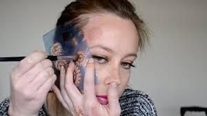 steunk makeup tutorial 2 stencils