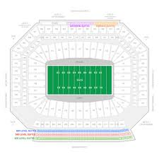 Ford Field Seating Chart View Detroit Lions Suite Rentals Ford Field