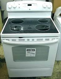 glass top stove scratches ran glass top stove replacement awesome self clean smooth top scratch dent