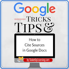How To Cite Sources In Google Docs Shake Up Learning