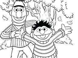Sesame Street Printable Abc Coloring Pages Sesame Street Printable
