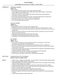 Qa Tester Resume Sample Images Of Photo Albums Sample Qa Resume