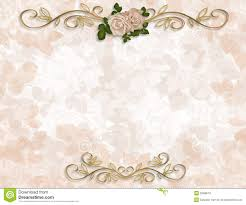 Victorian Roses Wedding Invitation Stock Illustration Image 5569879