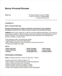 Personal Resume Example Cool Personal Resume Template 28 Free Word PDF Document Download