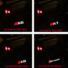Audi A3 Door Lights 2pcs Car Led Logo Door Light Ghost Shadow Welcome Light For