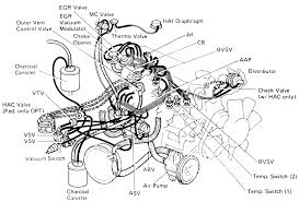 repair guides vacuum diagrams vacuum diagrams autozone com 17 emission system component layout and vacuum diagram 1988 22r engine federal and