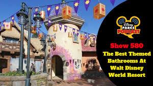 disney parks podcast show 580 the best themed bathrooms at walt disney world resort