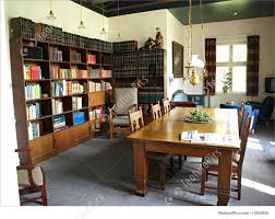 home office study. Interior Architecture: Classical Design Study Room With A Lot Of Books Home Office