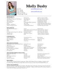 Acting Resume professional nursing resume beginner acting resume no experience 47