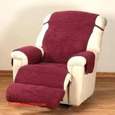 recliner headrest covers fleece recliner covers recliners covers recliners covers best of burdy fleece recliner cover