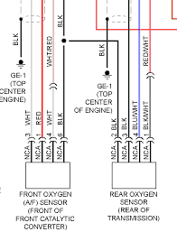 universal oxygen sensor wiring diagram subaru impreza hatch back what is the wire colors on the oxygen does show the wire