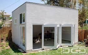 accordion glass garage doors for man