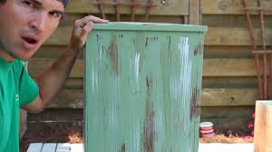 how to paint distress antique furniture project 1 painted green refinished and distressed you
