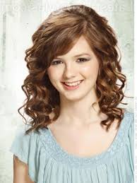 Medium Layered Hairstyles For Curly Hair