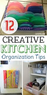 Easy DIY small kitchen organization ideas and storage tips for your  cabinets, your countertops,
