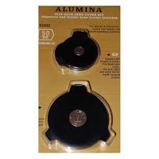 Leupold Alumina 50mm Standard Ep Flip Back Lens Cover Kit 62995