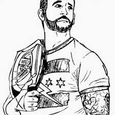 Small Picture Printable Wwe Coloring Pages For Kids Page adult