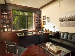 home accessories cozy masculine interior design with black leather within contemporary office modest 9 cozy modern office interior e32 interior