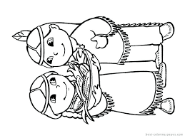 Coloring Pages Of Indians Coloring Pages Indians Indian Elephant